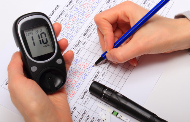 How to check sugar level with glucose meter